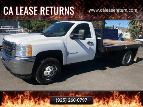 2014 Chevrolet Silverado 3500HD for sale at CA Lease Returns in Livermore CA