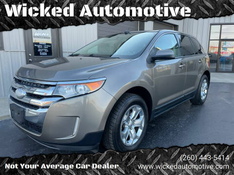 2013 Ford Edge for sale at Wicked Automotive in Fort Wayne IN