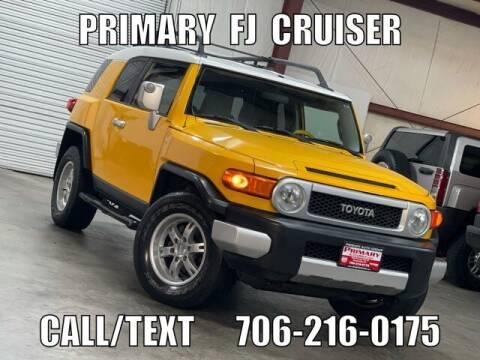 2007 Toyota FJ Cruiser for sale at Primary Auto Group in Dawsonville GA