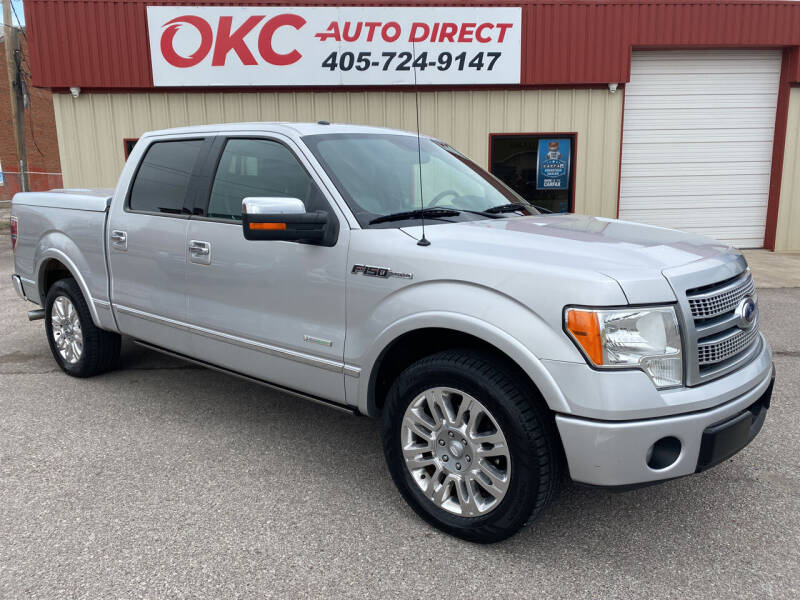 2012 Ford F-150 for sale at OKC Auto Direct in Oklahoma City OK