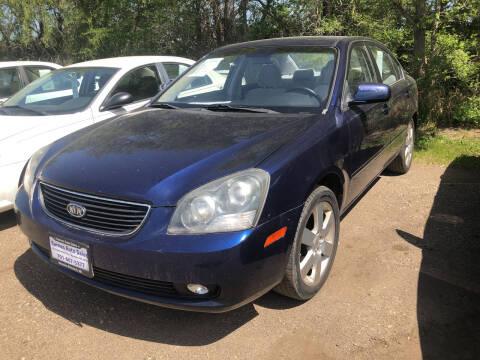 2008 Kia Optima for sale at BARNES AUTO SALES in Mandan ND