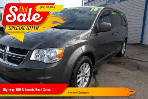 2019 Dodge Grand Caravan for sale at Highway 100 & Loomis Road Sales in Franklin WI