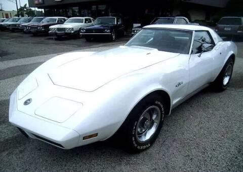 1974 Chevrolet Corvette for sale at Black Tie Classics in Stratford NJ