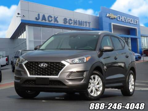 2020 Hyundai Tucson for sale at Jack Schmitt Chevrolet Wood River in Wood River IL
