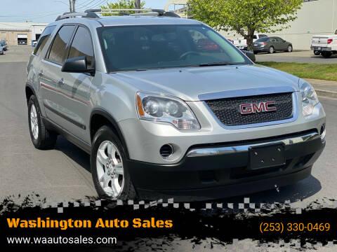 2010 GMC Acadia for sale at Washington Auto Sales in Tacoma WA