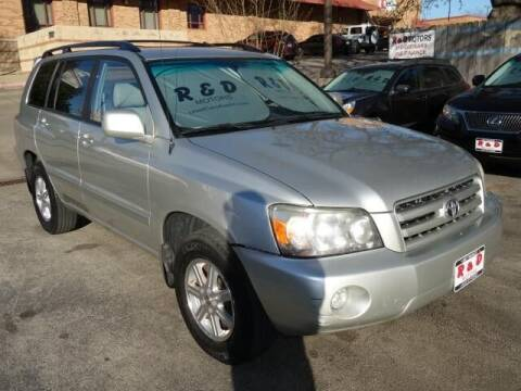 2007 Toyota Highlander for sale at R & D Motors in Austin TX
