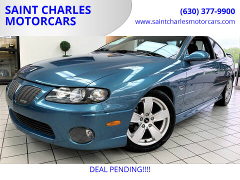 2004 Pontiac GTO for sale at SAINT CHARLES MOTORCARS in Saint Charles IL