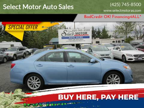2014 Toyota Camry for sale at Select Motor Auto Sales in Lynnwood WA