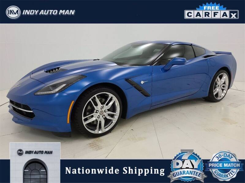 2014 Chevrolet Corvette for sale at INDY AUTO MAN in Indianapolis IN