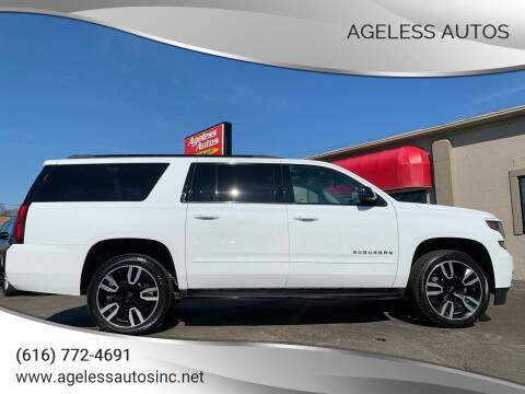 2019 Chevrolet Suburban for sale at Ageless Autos in Zeeland MI