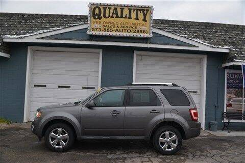 2010 Ford Escape for sale at Quality Pre-Owned Automotive in Cuba MO