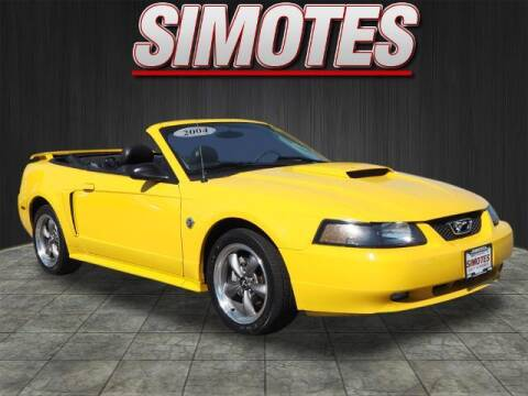 2004 Ford Mustang for sale at SIMOTES MOTORS in Minooka IL