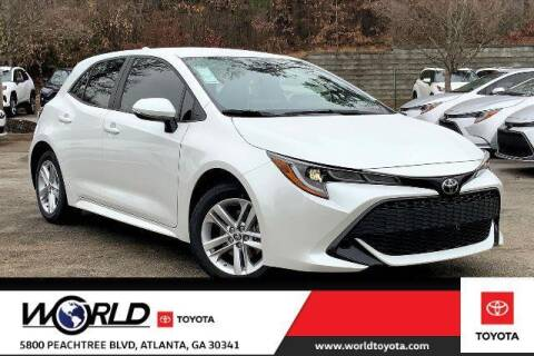 2021 Toyota Corolla Hatchback for sale at CU Carfinders in Norcross GA