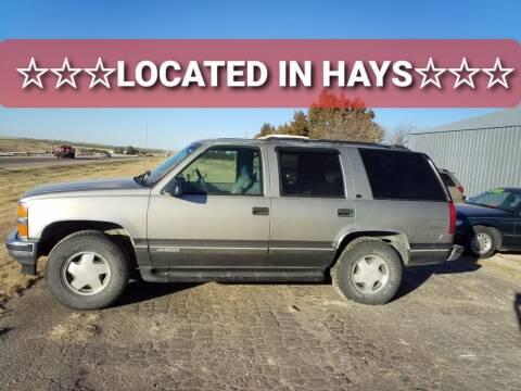 1999 Chevrolet Tahoe for sale at Bretz Inc in Dighton KS