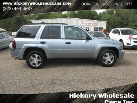 2006 Chevrolet TrailBlazer for sale at Hickory Wholesale Cars Inc in Newton NC