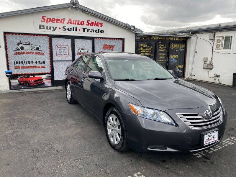 2008 Toyota Camry Hybrid for sale at Speed Auto Sales in El Cajon CA