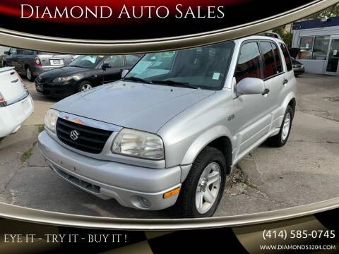 2002 Suzuki Grand Vitara for sale at Diamond Auto Sales in Milwaukee WI