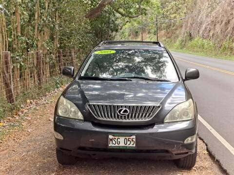 2005 Lexus RX 330 for sale at Ohana Auto Sales in Wailuku HI