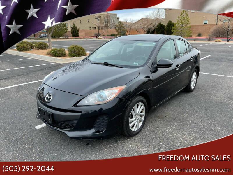 2012 Mazda MAZDA3 for sale at Freedom Auto Sales in Albuquerque NM