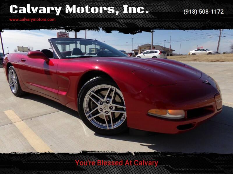 2002 Chevrolet Corvette for sale at Calvary Motors, Inc. in Bixby OK