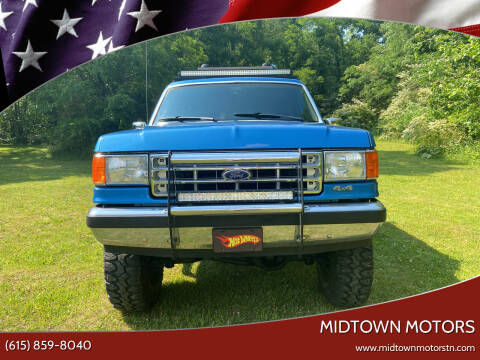 1988 Ford Bronco for sale at Midtown Motors in Greenbrier TN