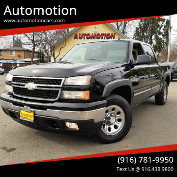 2006 Chevrolet Silverado 1500 for sale at Automotion in Roseville CA