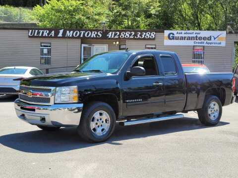 2013 Chevrolet Silverado 1500 for sale at Ultra 1 Motors in Pittsburgh PA