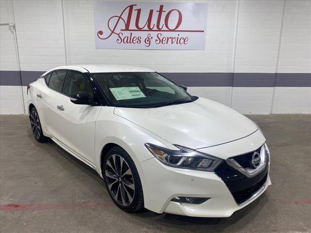 2016 Nissan Maxima for sale at Auto Sales & Service Wholesale in Indianapolis IN