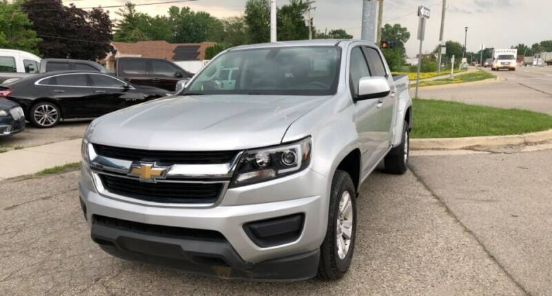 2018 Chevrolet Colorado for sale at One Price Auto in Mount Clemens MI