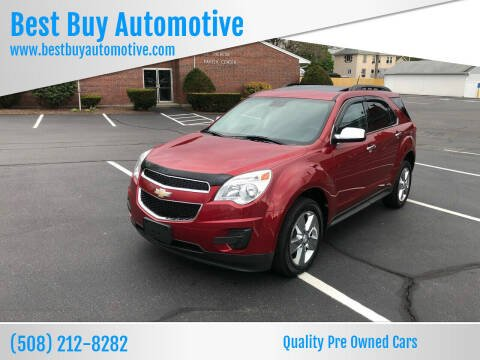 2014 Chevrolet Equinox for sale at Best Buy Automotive in Attleboro MA