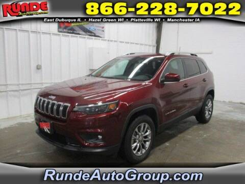 2019 Jeep Cherokee for sale at Runde Chevrolet in East Dubuque IL