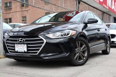 2018 Hyundai Elantra for sale at HILLSIDE AUTO MALL INC in Jamaica NY