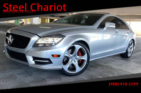 2012 Mercedes-Benz CLS for sale at Steel Chariot in San Jose CA