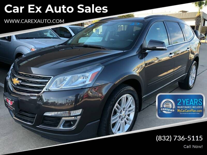 2014 Chevrolet Traverse for sale at Car Ex Auto Sales in Houston TX