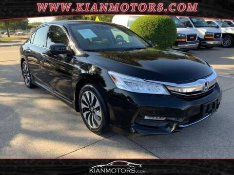 2017 Honda Accord Hybrid for sale at KIAN MOTORS INC in Plano TX