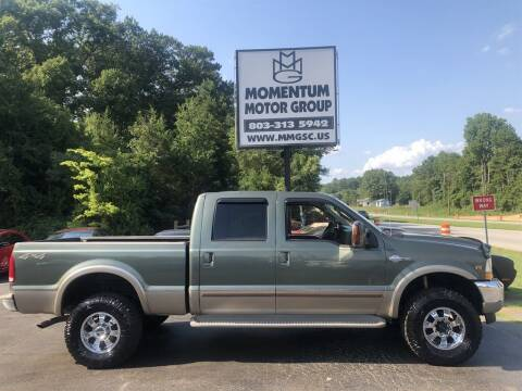 2004 Ford F-350 Super Duty for sale at Momentum Motor Group in Lancaster SC