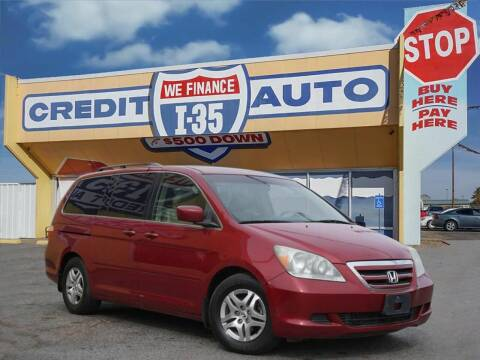 2005 Honda Odyssey for sale at Buy Here Pay Here Lawton.com in Lawton OK
