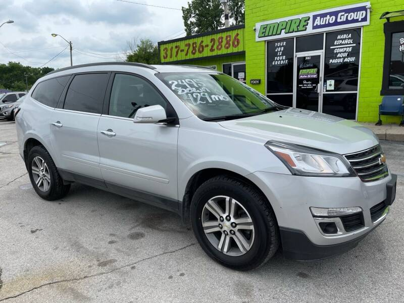 2016 Chevrolet Traverse for sale at Empire Auto Group in Indianapolis IN
