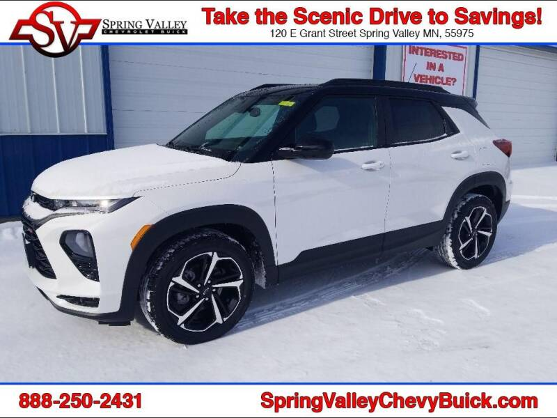 2021 Chevrolet TrailBlazer for sale at Spring Valley Chevrolet Buick in Spring Valley MN
