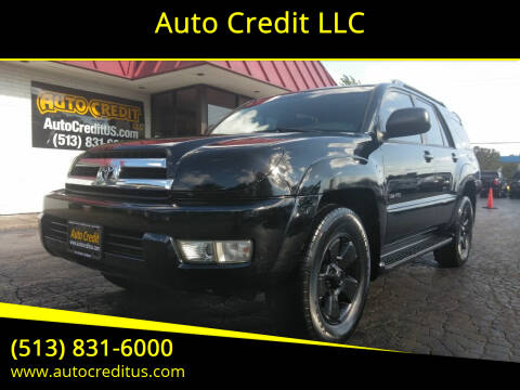 2005 Toyota 4Runner for sale at Auto Credit LLC in Milford OH