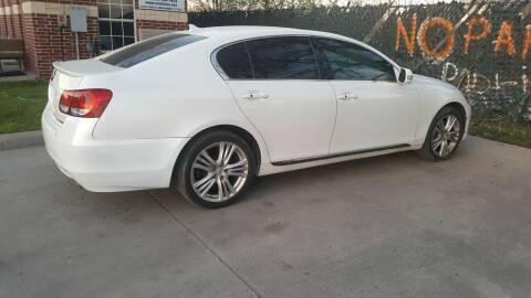 2008 Lexus GS 450h for sale at El Jasho Motors in Grand Prairie TX