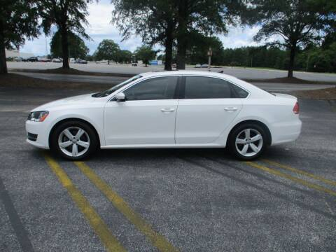 2013 Volkswagen Passat for sale at A & P Automotive in Montgomery AL