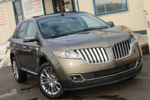 2012 Lincoln MKX for sale at Dynamics Auto Sale in Highland IN