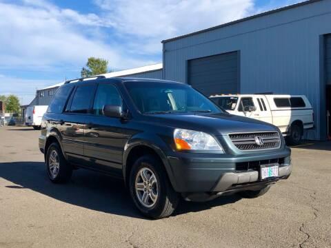 2005 Honda Pilot for sale at DASH AUTO SALES LLC in Salem OR