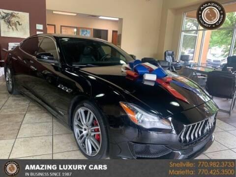 2017 Maserati Quattroporte for sale at Amazing Luxury Cars in Snellville GA