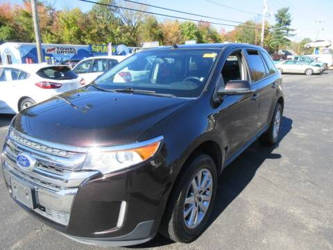 2013 Ford Edge for sale at Route 12 Auto Sales in Leominster MA