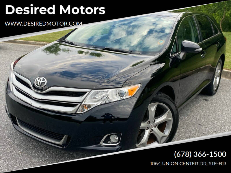 2014 Toyota Venza for sale at Desired Motors in Alpharetta GA