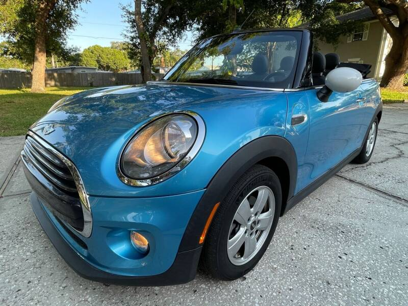 2018 MINI Convertible for sale at RoMicco Cars and Trucks in Tampa FL