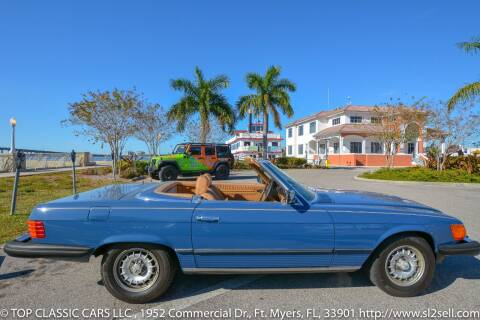 1982 Mercedes-Benz 380-Class for sale at Top Classic Cars LLC in Fort Myers FL