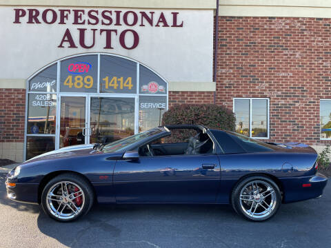 2002 Chevrolet Camaro for sale at Professional Auto Sales & Service in Fort Wayne IN